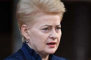 Литва должна готовиться к вторжению России - Грибаускайте