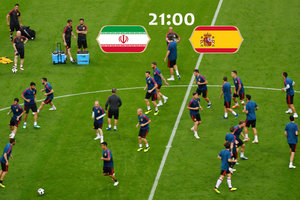 Онлайн матча ЧМ-2018 Иран - Испания 0:0