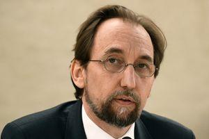 Верховный комиссар ООН по правам человека Зейд Раад аль-Хусейн, фото AFP
