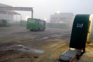 Под Харьковом водители маршруток устроили кровавую драку: фото