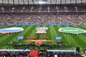 Украинского болельщика засудили в России за выходку в матче-открытия ЧМ-2018