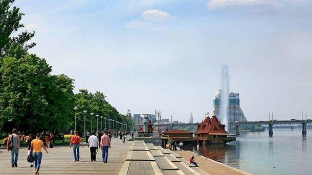 Набережная в Днепре. Фото: igotoworld.com