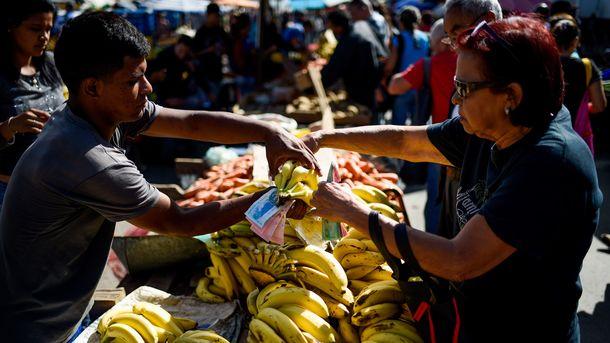 ВВенесуэле подняли минимальную зарплату до $1,85