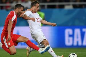 Сербия - Швейцария - 1:2 видео голов и обзор матча ЧМ-2018