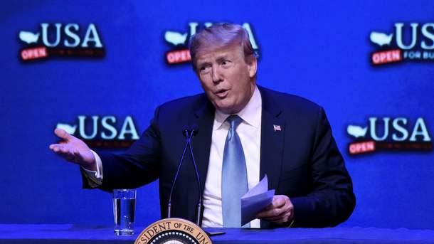 Трамп потребовал снять все торговые пошлины вотношении США