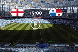 Онлайн матча чемпионата мира Англия - Панама - 5:0 - разгром в первом тайме