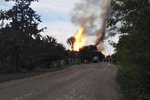 Масштабный пожар на спиртзаводе в Тернопольской области: новые подробности