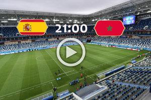 Онлайн матча Испания - Марокко на ЧМ-2018