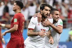 Роналду не забил пенальти, Португалия не обыграла Иран. Обзор матча