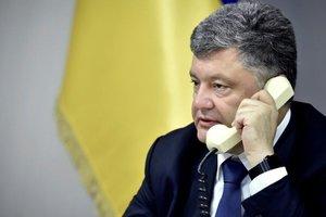 Порошенко созвонился с генсеком НАТО
