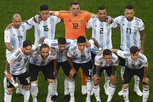Стартовый состав Аргентины в матче с Нигерией - самый старый в истории ЧМ