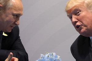 Встреча Трампа и Путина может состояться в Хельсинки