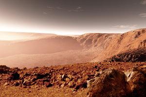 На Марсе взорвался метеорит и оставил жуткий след (ФОТО)