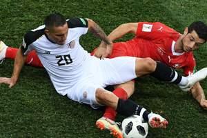 Обзор матча Швейцария - Коста-Рика - 2:2 на ЧМ-2018