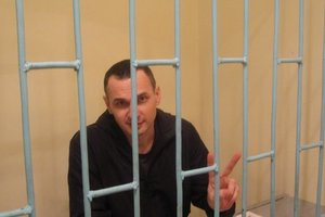 Денисова приехала в колонию к Сенцову