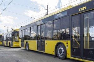 В Киеве в воскресенье изменится работа троллейбусов и автобусов