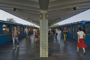На станции метро Левобережная под поездом погиб человек