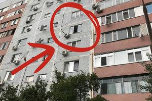 В Энергодаре маленький ребенок выпал из окна
