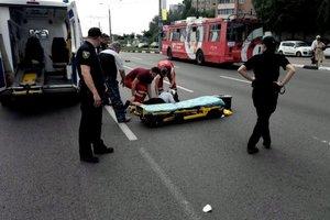В Харькове машина сбила 81-летнюю пенсионерку