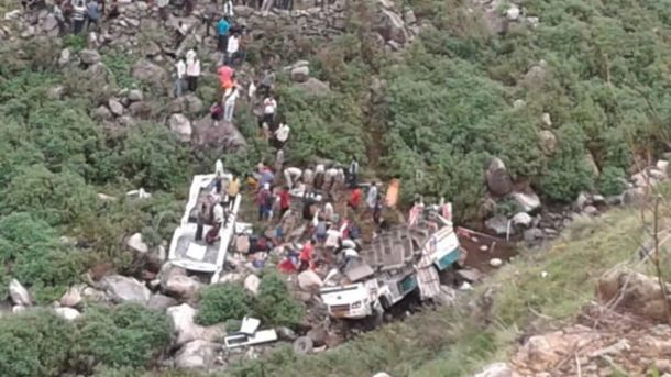 Жуткое ДТП виндийских Гималаях: неменее  40 человек погибло