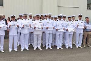 ВМС Украины присоединились к акции в поддержку Сенцова