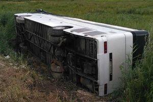 """На трассе """"Киев-Чоп"""" перевернулся автобус с пассажирами: есть пострадавшие"""