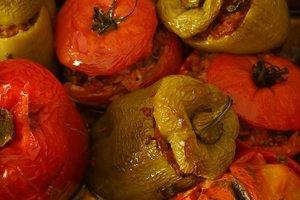 Рецепт дня: фаршированный перец с мясом и рисом