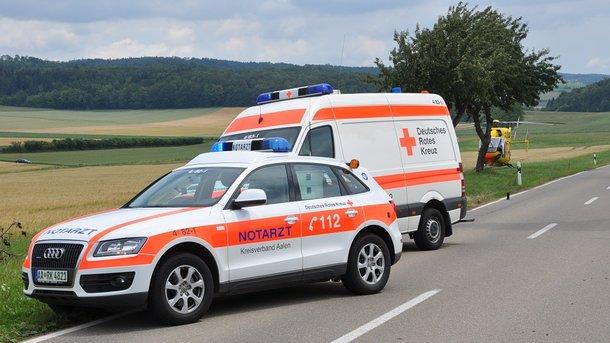 ВГермании автобус сдетьми въехал вскорую, 46 пострадавших
