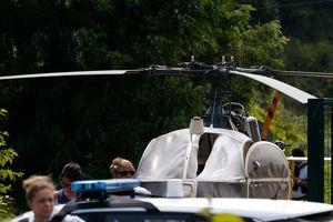 Во Франции преступника, сбежавшего из тюрьмы на вертолете, ищут 2900 полицейских