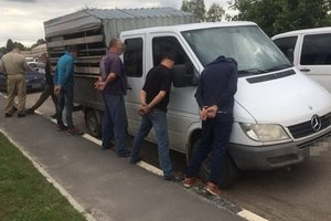 В Житомирской области ликвидировали банду рэкетиров