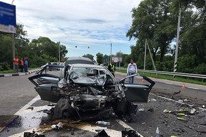 Страшное ДТП под Черниговом: погибли три человека