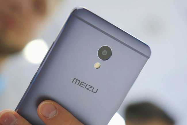 Фото показало сканер отпечатков пальцев прямо наэкране Meizu 16