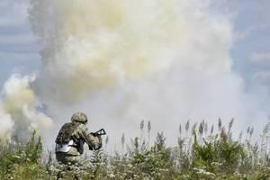В одной из воинских частей ВСУ на учениях погибли и ранены несколько бойцов