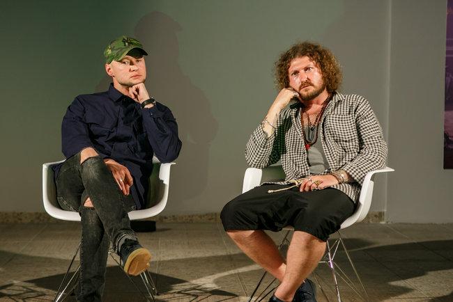 Андрей Хлывнюк и Александр Чемеров. Фото: Данил Павлов