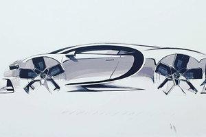 Bugatti представит особую версию гиперкара Chiron за пять млн евро: все машины уже распроданы