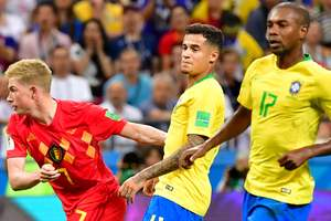 Как Бельгия шокировала Бразилию: обзор матча четвертьфинала ЧМ-2018