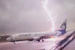 В Цюрихе молния ударила в пассажирский авиалайнер