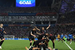 Обзор матча Россия - Хорватия: как хозяев ЧМ-2018 выбивали с мундиаля