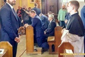 Дуда в Луцке почтил память жертв Волынской трагедии, а Порошенко должен отправиться в Польшу