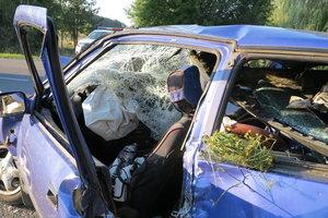 Под Ворзелем столкнулись Suzuki и Volkswagen, погибла женщина