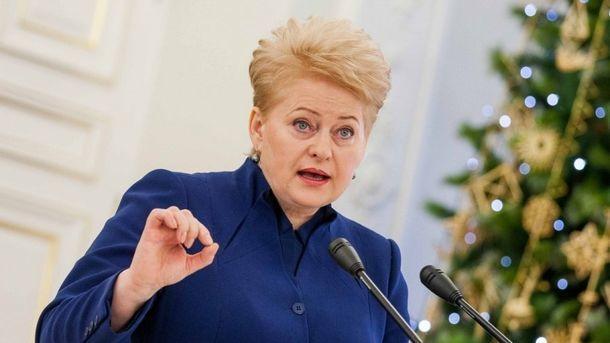 Президент Литвы сообщила, что разделяет мнение Трампа по«Северному потоку— 2»