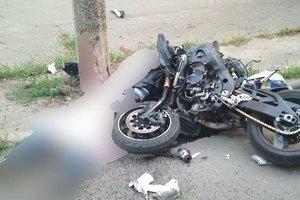Смертельное столкновение автомобиля и мотоциклов в Харькове: первые версии причин аварии