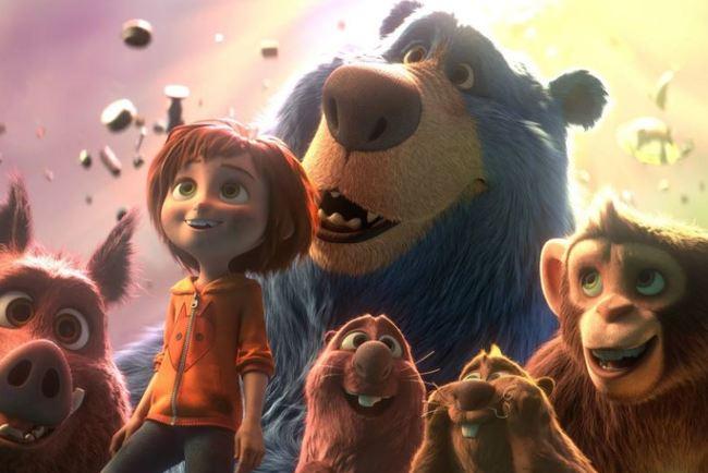 Paramount Pictures показала 1-ый трейлер мультфильма «Парк аттракционов»
