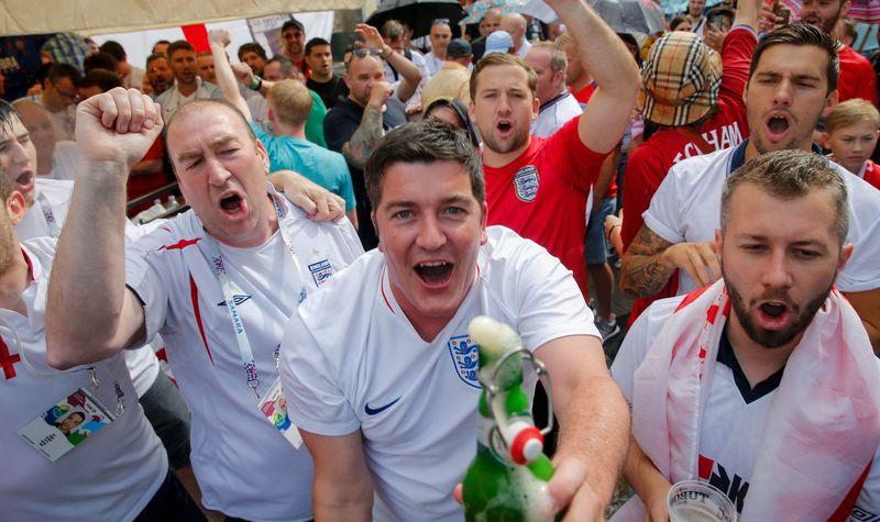 Поддержать свою сборную вполуфиналеЧМ придут 10 тыс. англичан