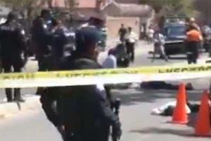В Мексике банда на автомобилях напала на полицейских
