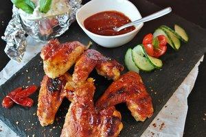 ТОП-4 рецепта куриных крылышек к пиву