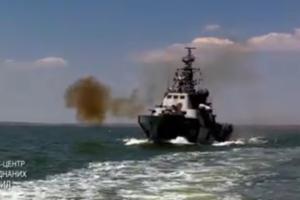 Морские пограничники на Донбассе провели боевые стрельбы: появилось яркое видео