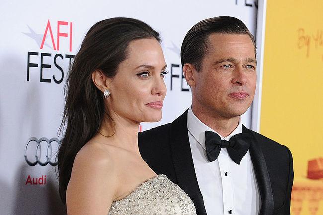 Анджелина Джоли и Брэд Питт. Фото: Getty