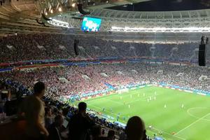 Не попало в эфир ТВ: Англия пыталась сравнять счет, пока Хорватия праздновала свой гол