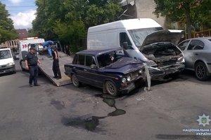 ДТП на Закарпатье: пострадали двое мужчин и беременная женщина